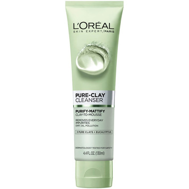 L\'Oreal Purifying & Mattifying Pure Clay Cleanser