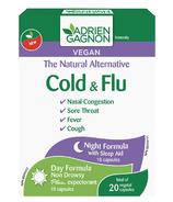 Adrien Gagnon Rhume et grippe, Formule de jour & Formule de nuit
