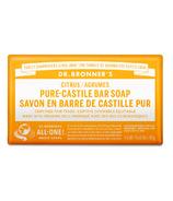 Dr. Bronner's Pure Castile Bar Soap Citrus Orange