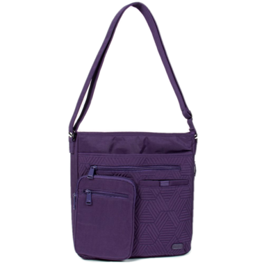 Lug Monorail Convertible Crossbody Bag Concord Purple