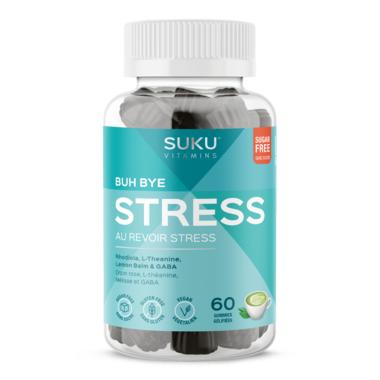 SUKU Vitamins Buh Bye Stress Zenful Matcha Decaffeinated