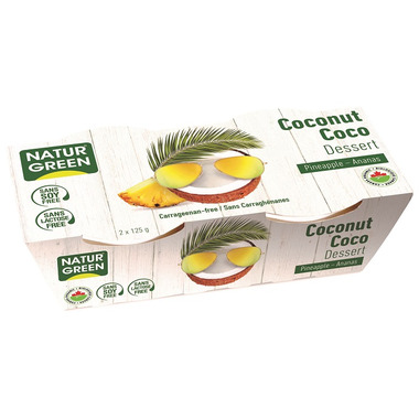 NaturGreen Coconut Pineapple Dessert