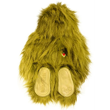 Hugglehounds Toy with Sole Large Green Dog Toy