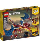 LEGO Creator 3-in-1 Fire Dragon Building Kit