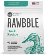BIXBI Rawbble Freeze-Dried Dog Food Duck