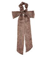 Kristin Ess Hair Scrunchie + Scarf Set Cheetah