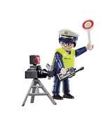 Playmobil Special Plus Police Officer with Speed Trap
