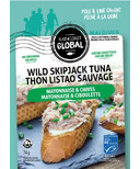 Raincoast Global Wild Skipjack Tuna Pouch Mayo & Chives