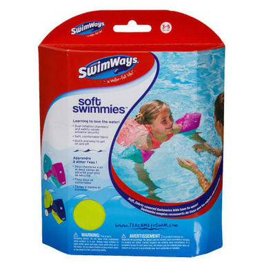 SwimWays Soft Swimmies Green and Blue