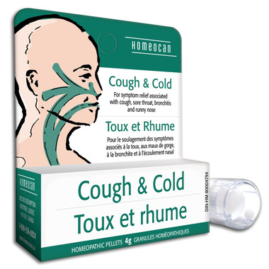 Homeocan Cough & Cold Homeopathic Pellets