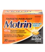Motrin Gels Liquides Super Strength
