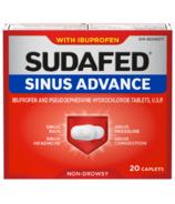 Avance sinusale de Sudafed