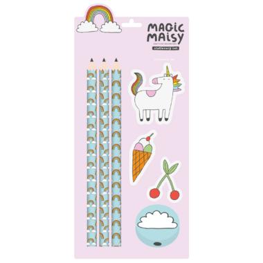 Magic Maisy Stationary Set