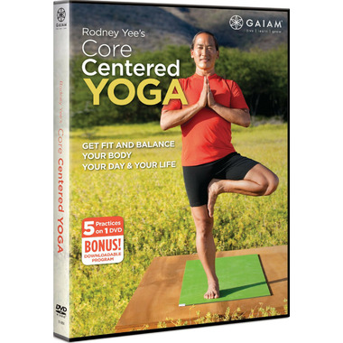 Gaiam Rodney Yees Core Centered Yoga
