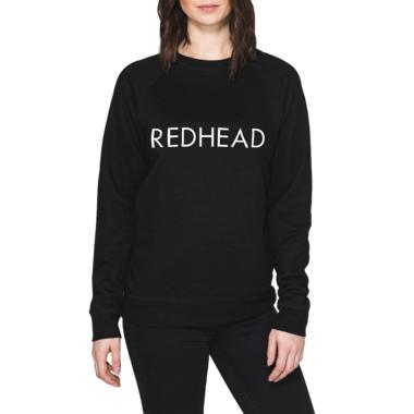 Brunette The Label Redhead Crewneck Black
