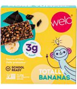 Barre de collation Welo School Ready Totally Bananas