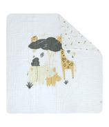 Perlimpinpin Cotton Muslin Comforter Safari