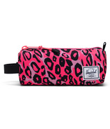 Herschel Supply Settlement Case Youth Cheetah Camo Neon Pink/Black