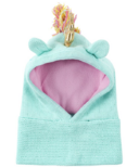ZOOCCHINI Baby Knit Balaclava Hat Allie the Alicorn