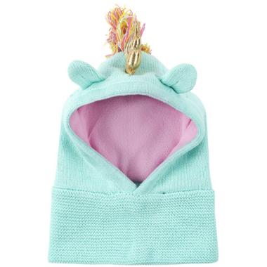 ZOOCCHINI Baby Knit Balaclava Hat Allie the Alicorn