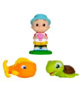 CoComelon Gicleurs de bain poisson & tortue & JJ (Bath Squirters Fish & Turtle & JJ)