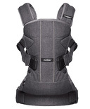 BabyBjorn Baby Carrier One Denim Grey Cotton Mix