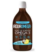 AquaOmega Omega-3 Fish Oil AEP Extra EAP Tropical