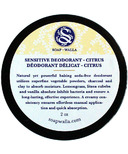 Soapwalla Sensitive Skin Deodorant Cream Citrus