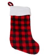 Hatley Buffalo Plaid Fleece Christmas Stocking