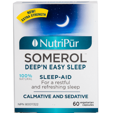 Nutripur Somerol Deep\'N Easy Sleep Remedy