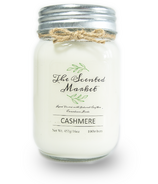 The Scented Market Soy Wax Candle Cashmere