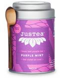 JusTea Loose Leaf Purple Tea Purple Mint
