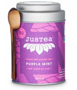 JusTea Loose Leaf Purple Tea Purple Mint