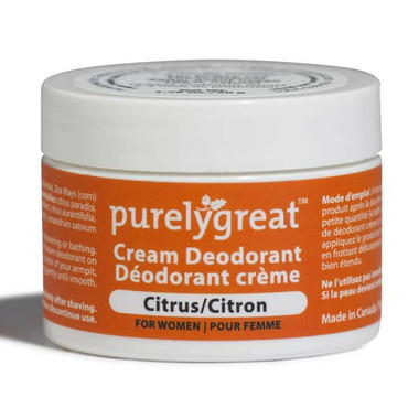 Purelygreat Cream Deodorant for Women