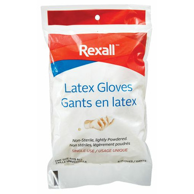Rexall Latex Gloves