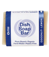 Etee Plastic-Free Dish Soap Bar Coconut Lemon