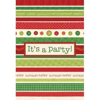 Festive Occasion Postcard Invitations