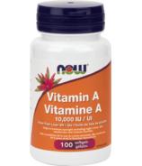 NOW Foods Vitamine A 10,000 UI
