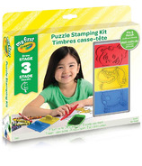 Crayola My First Crayola Puzzle Stamping Kit