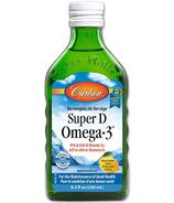 Carlson Super D Omega-3 Cod Liver Oil Lemon Flavour