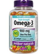 Webber Naturals Triple Strength Omega-3 EPA/DHA