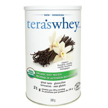 Tera\'s Whey Organic Bourbon Vanilla Whey Protein