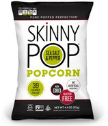 Skinny Pop Sea Salt & Black Pepper Popcorn