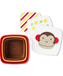 Skip Hop Zoo Snack Box Set Monkey