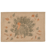 Now Designs Placemats Burlap County Turkey
