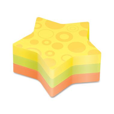 3M Post-it Star Super Sticky Die-Cut Notes