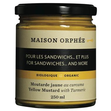 Maison Orphee Organic Yellow Mustard With Turmeric