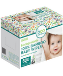 Baby Boo Bamboo Biodegradable 100% Bamboo Wipes Value Box