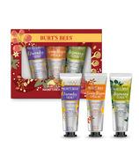Burt's Bees Hand Cream Trio Holiday Gift Set Shea Butter Hand Creams
