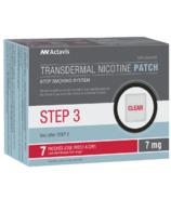 Actavis Step 3 Nicotine Patch 7mg